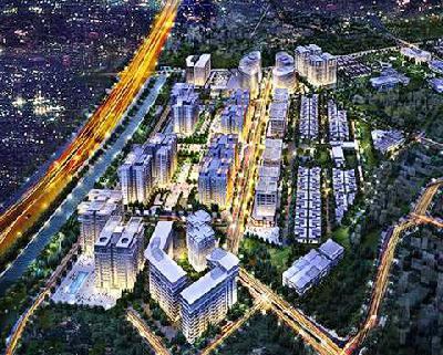 Settlement for soft soil treatment for Hanoi Garden City project